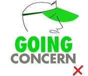 Going Concern Lost