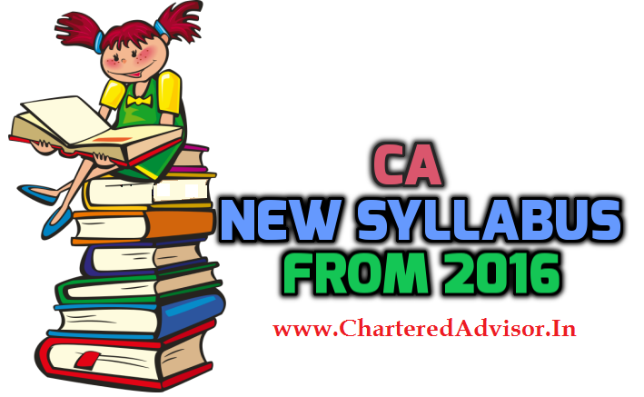 CA New Syllabus